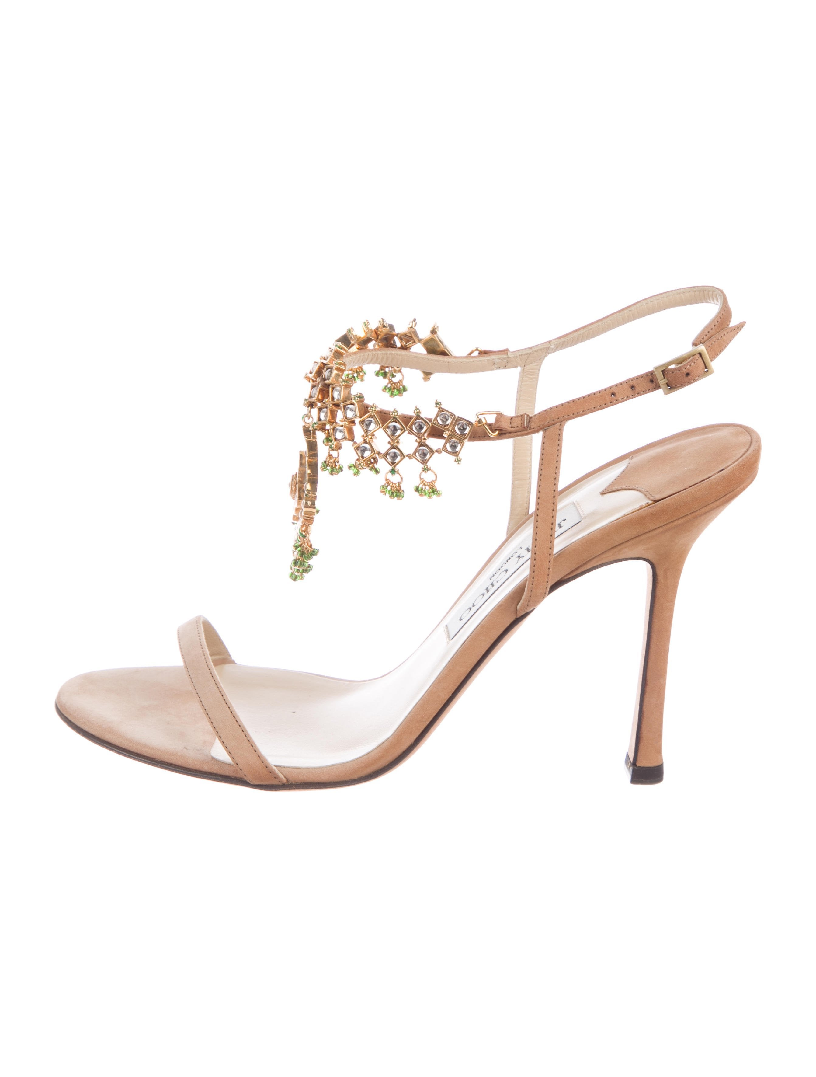 183f296b30d9b4 Jimmy Choo Siam Embellished Sandals - Shoes - JIM100285