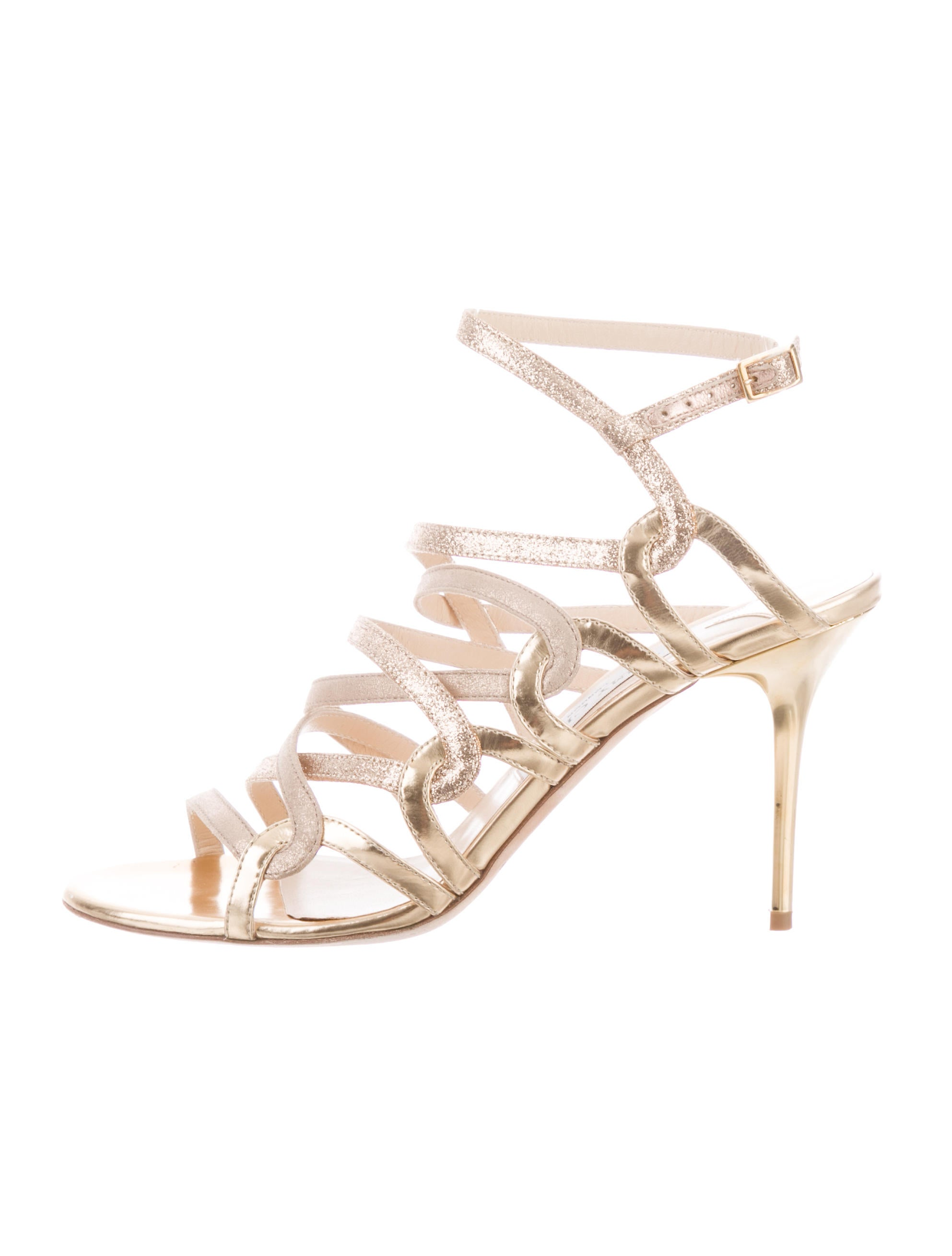 9667ad16f54d Jimmy Choo Multistrap Cage Sandals - Shoes - JIM106047