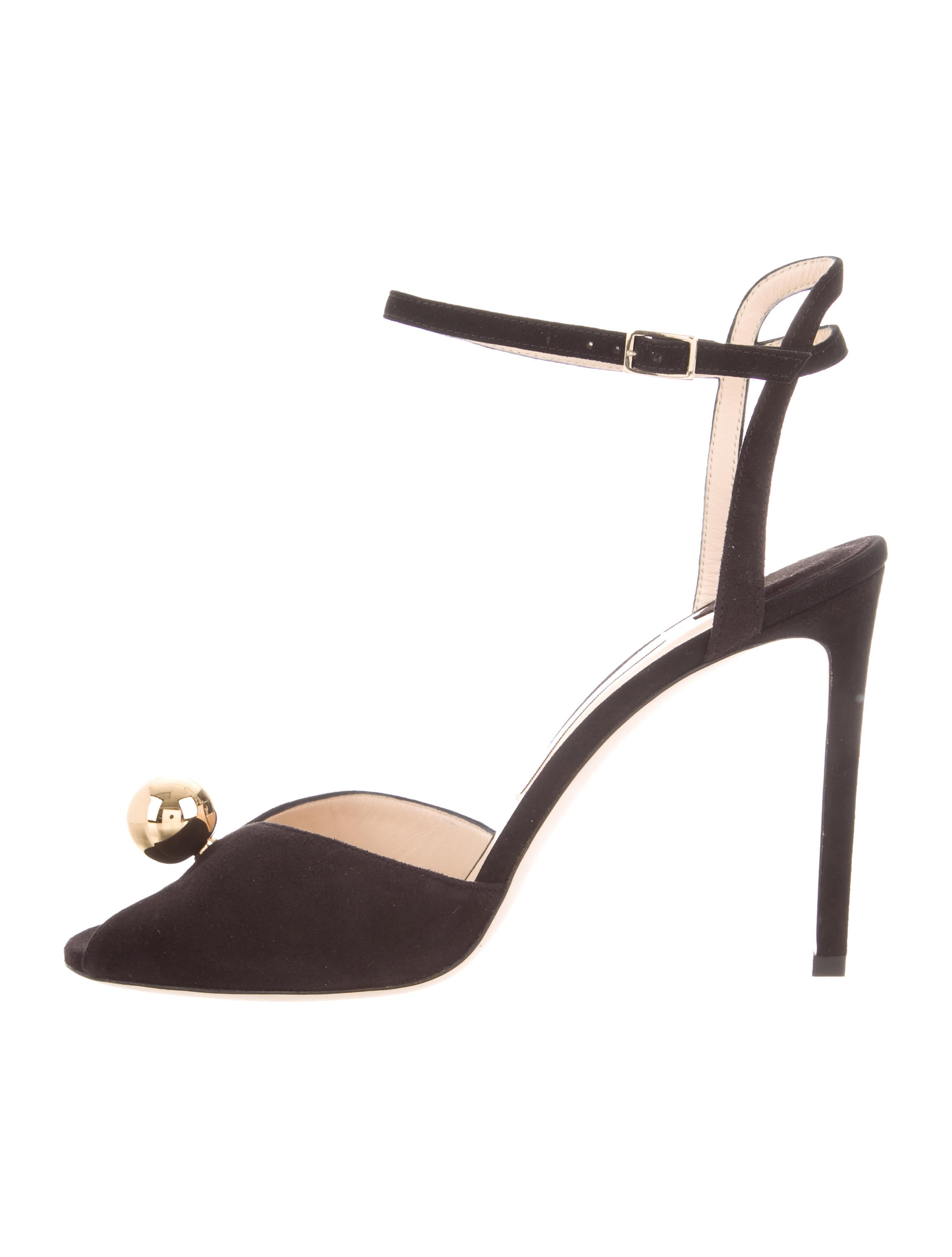41fe5a26cce Jimmy Choo Sacora Suede Peep-Toe Pumps w  Tags - Shoes - JIM106579 ...