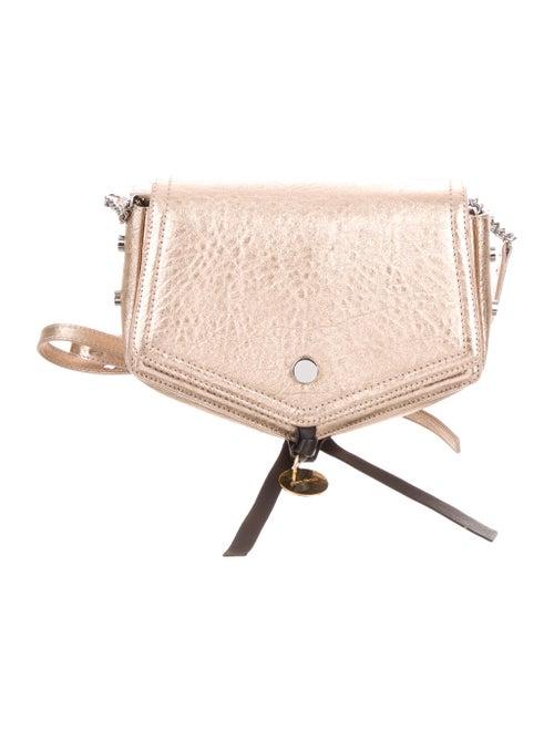 5f506f067e7f8 Jimmy Choo Leather Arrow Crossbody Bag - Handbags - JIM109790