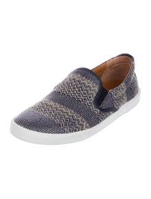 83078ddc3c5f Jimmy Choo. Patterned Slip-On Sneakers