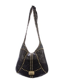 df0999058e0 Jimmy Choo. Studded Leather Hobo