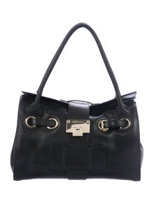 e9338ebc83cb Jimmy Choo. Leather Ramona Bag
