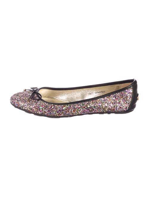 21c841043a7 Jimmy Choo Walsh Glitter Flats - Shoes - JIM118158