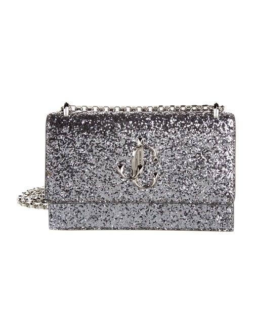Jimmy Choo Glitter Bohemia Bag silver