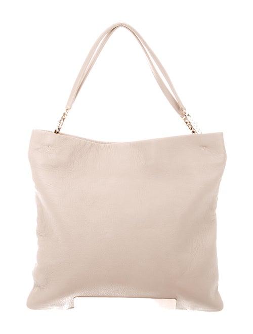 Jimmy Choo Leather Shoulder Bag gold