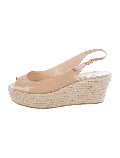 Jimmy Choo Patent Leather Espadrilles