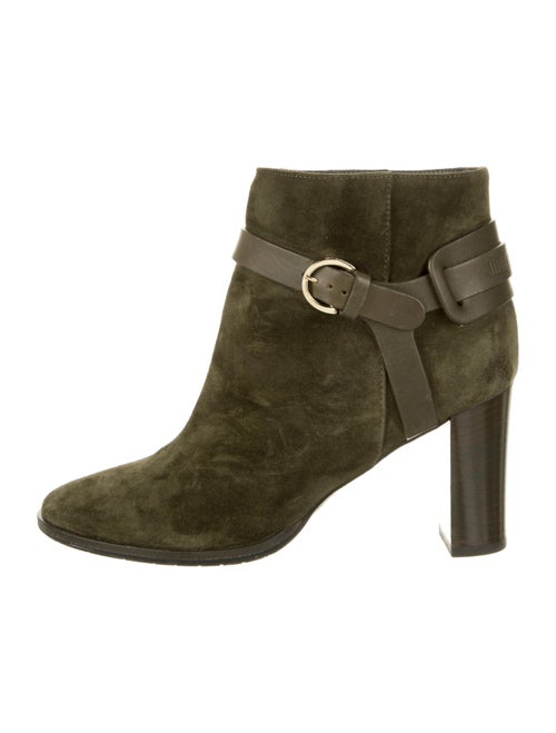 Jimmy Choo Suede Boots Green