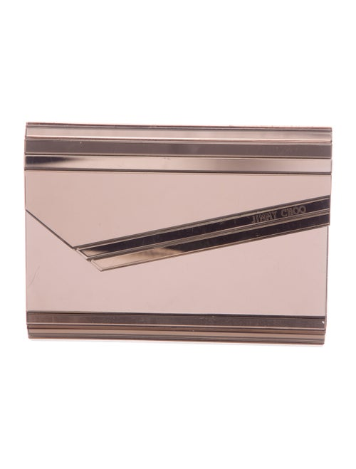 Jimmy Choo Candy Acrylic Clutch Metallic