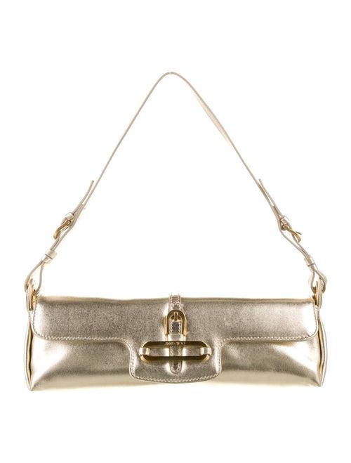 Jimmy Choo Mini Metallic Tulita Bag Metallic