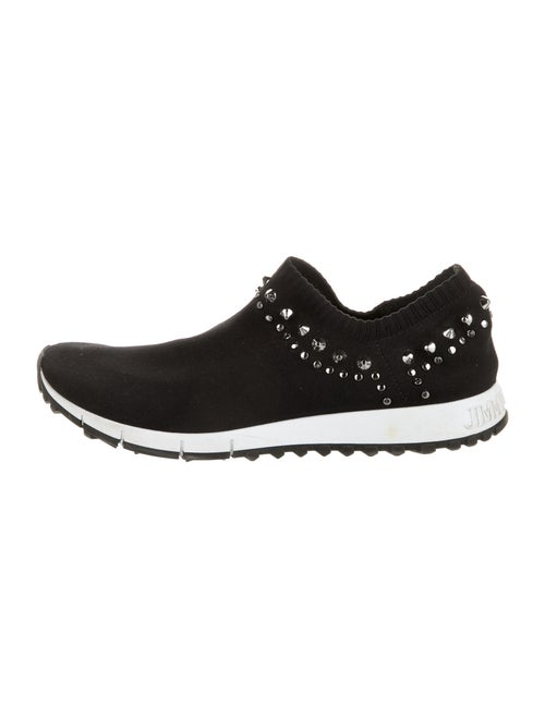 Jimmy Choo Studded Accents Sneakers Black