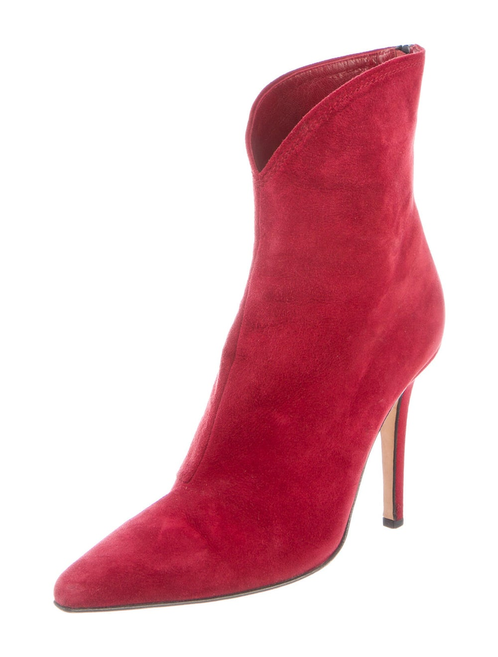 Jimmy Choo Suede Boots Red - image 2