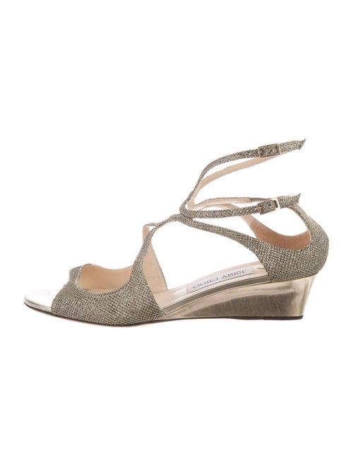 Jimmy Choo Gladiator Sandals Gold
