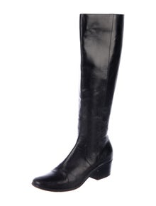 Jimmy Choo Leather Riding Boots