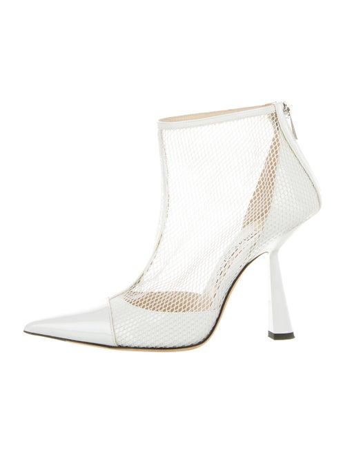 Jimmy Choo Boots White