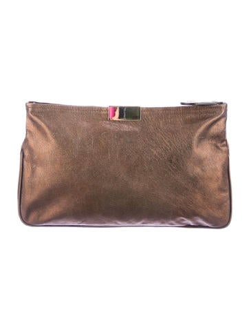Metallic Zulu Clutch