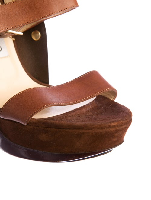 604b955fe47b Jimmy Choo Valley Platform Sandals - Shoes - JIM30487