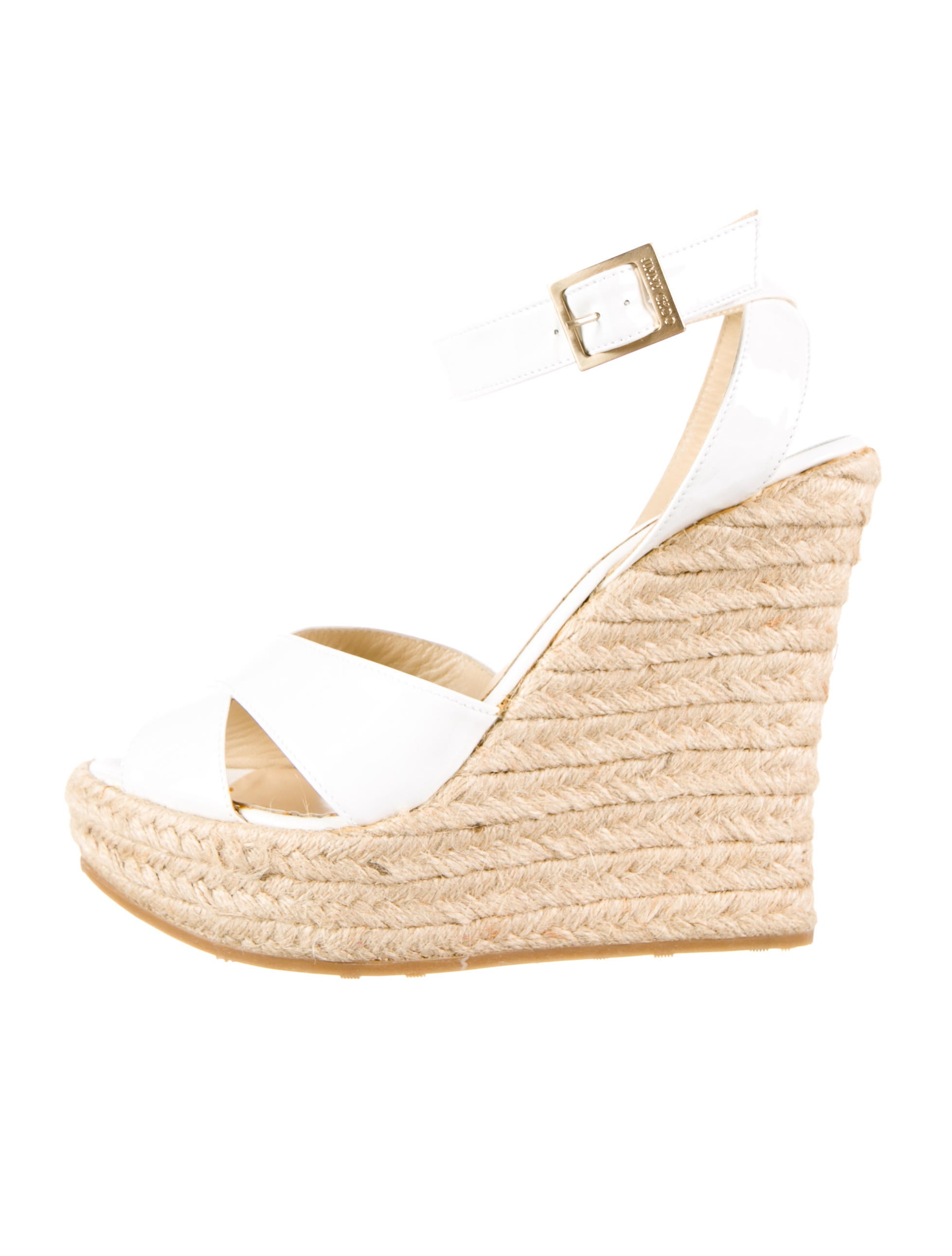 jimmy choo wedges shoes jim31836 the realreal