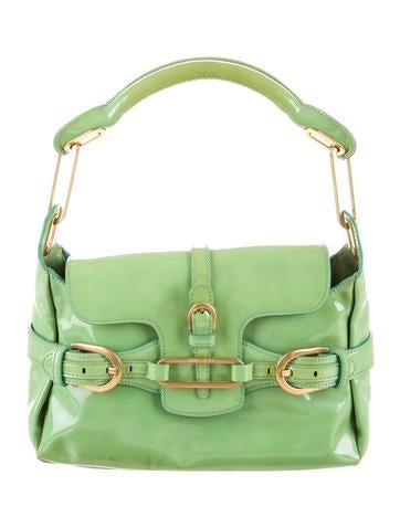 Patent leather Tulita Handle Bag