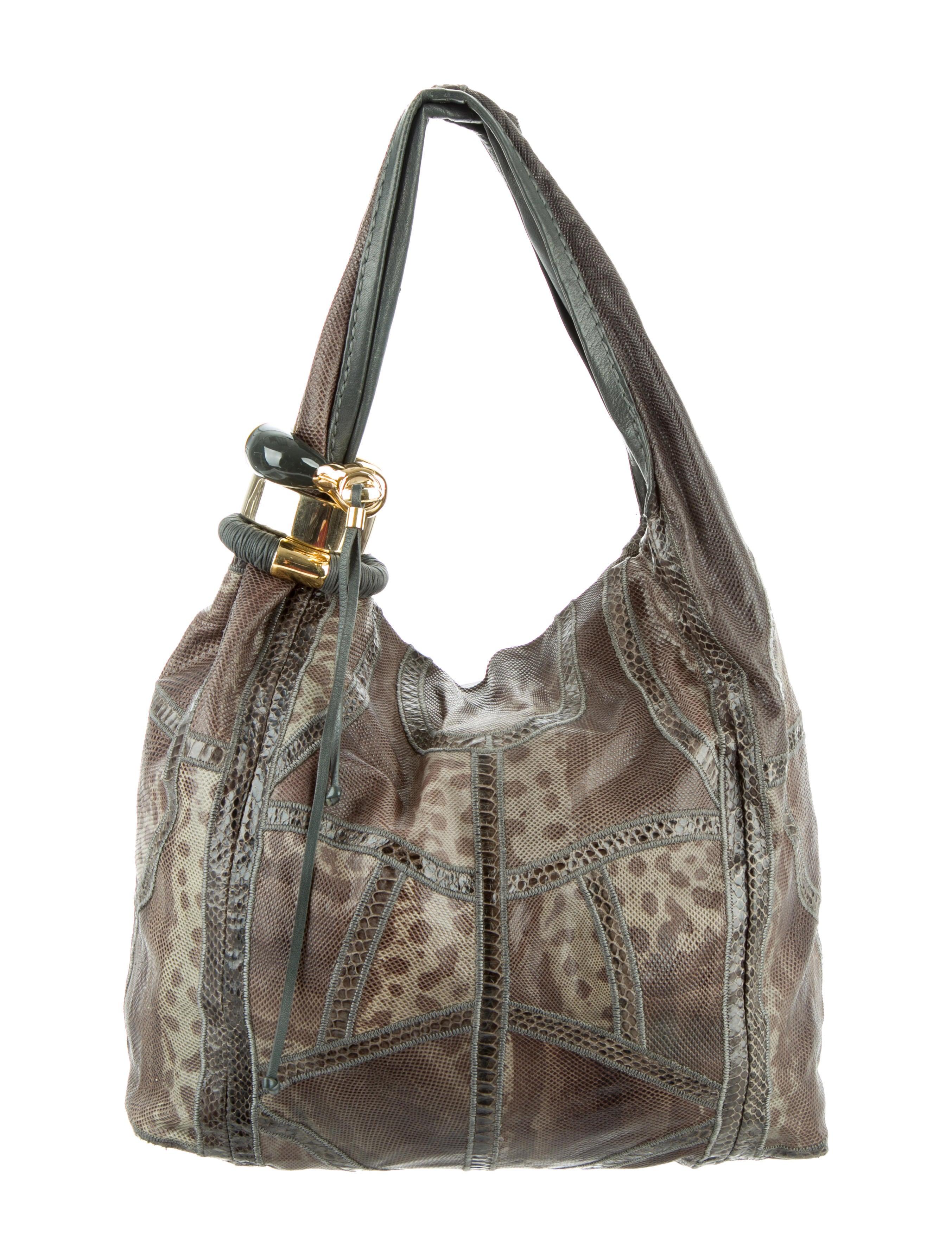Snakeskin Saba Bag