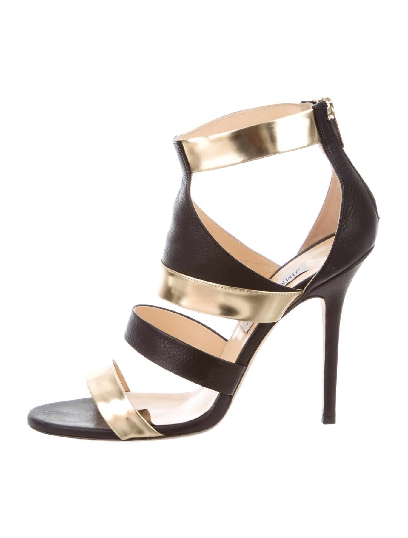 6bdb4ae72bd4 Jimmy Choo Besso Caged Sandals - Shoes - JIM43815