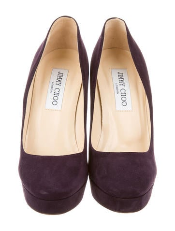 Suede Platforms Pumps