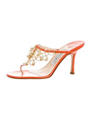 Leather Chain Sandals