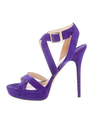 Suede Vamp Sandals