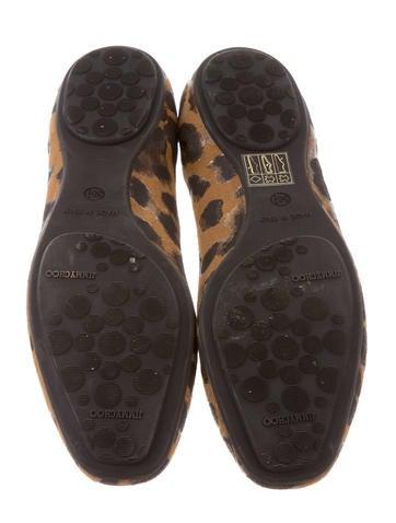 Finlay Leopard Print Flats