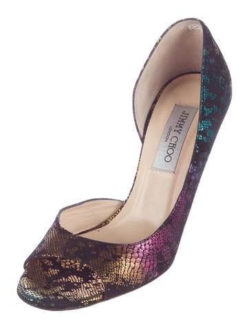 Printed Gino Pumps