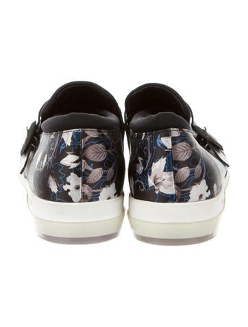 Cannon Printed Slip-On Sneakers