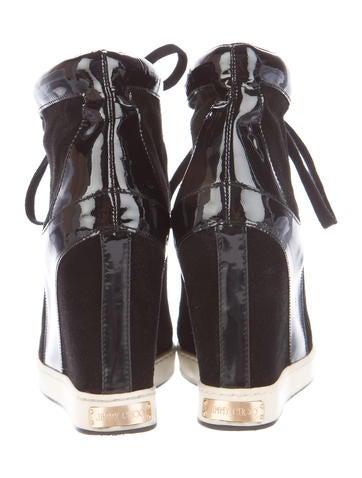 Panama Wedge Sneakers