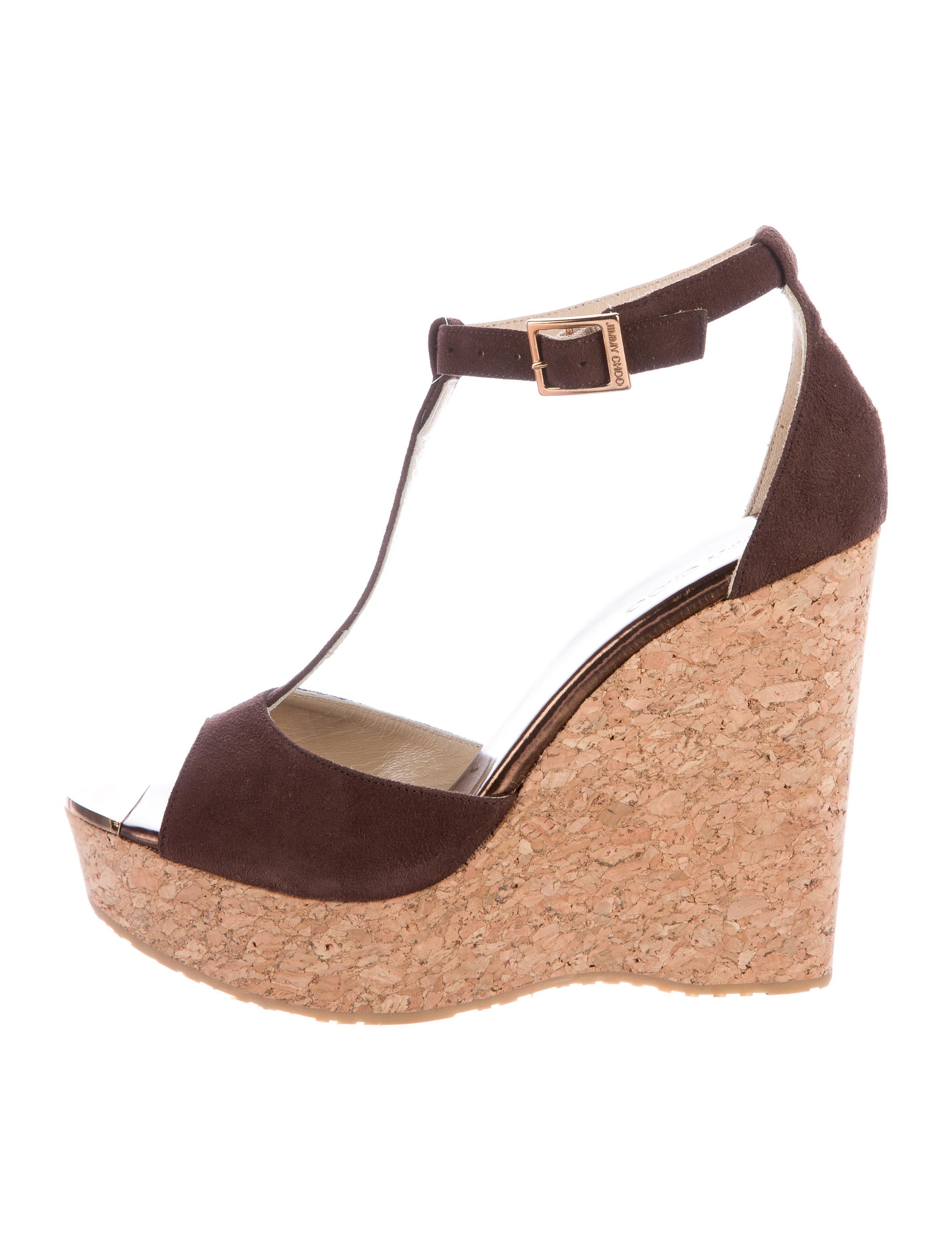 jimmy choo pela t wedges shoes jim53761 the