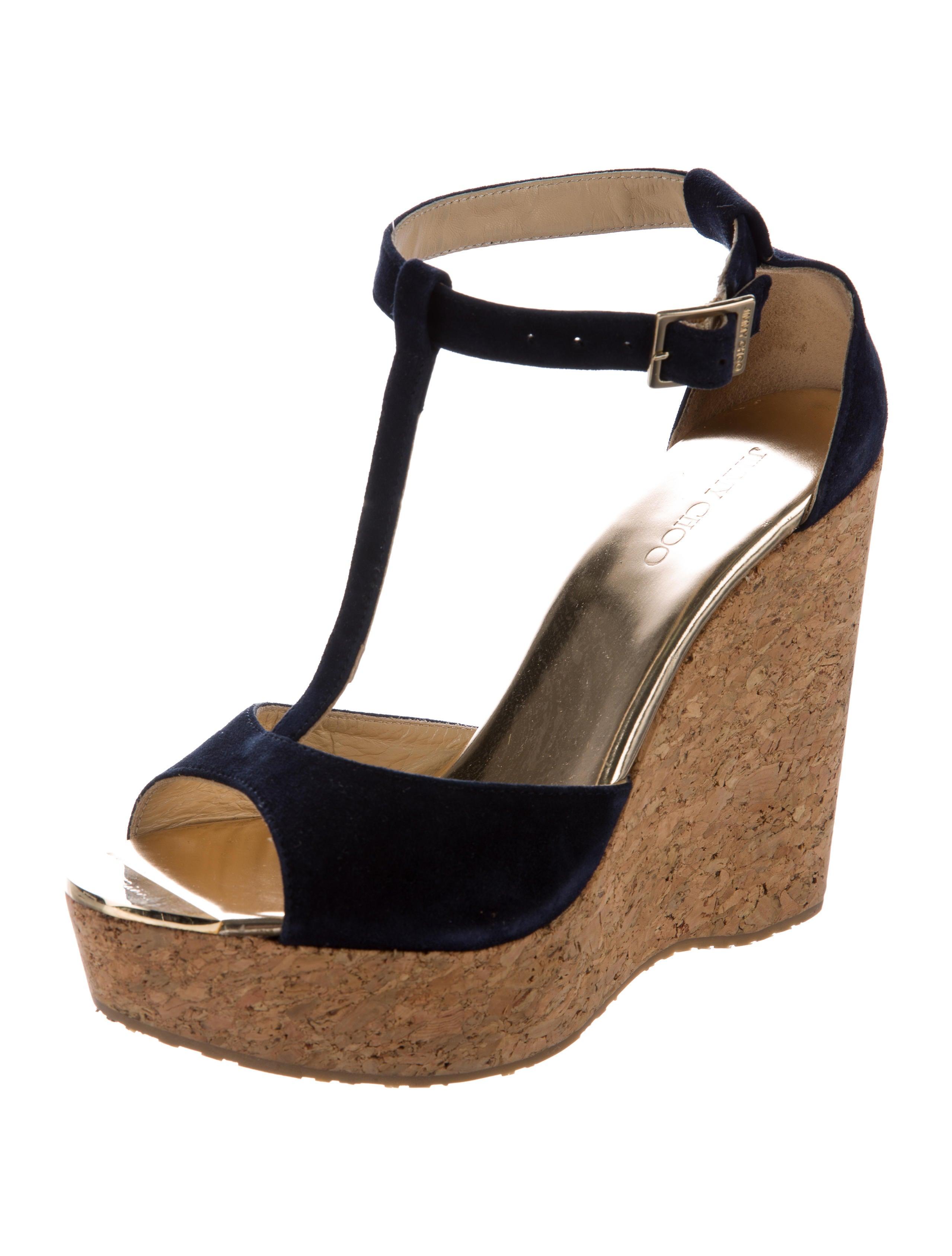 jimmy choo pela t wedges shoes jim53789 the