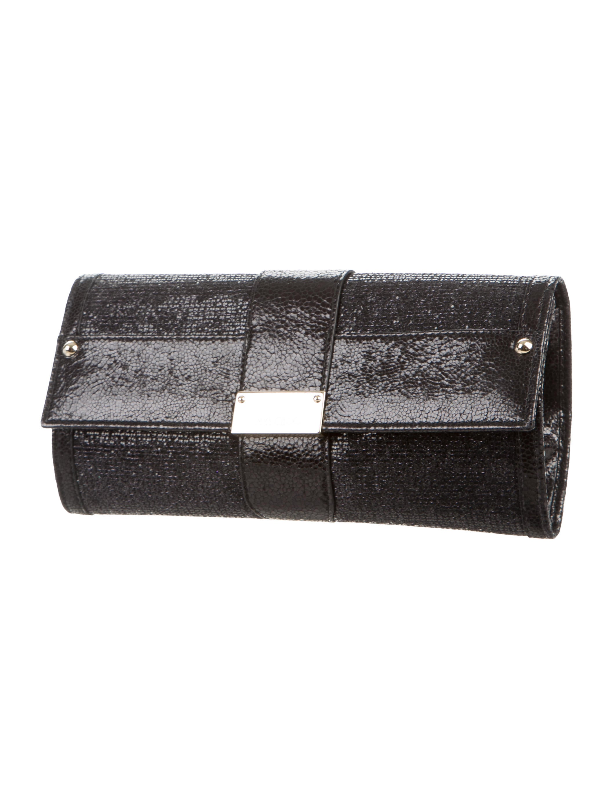 jimmy choo sequin evening clutch handbags jim53912 the realreal. Black Bedroom Furniture Sets. Home Design Ideas