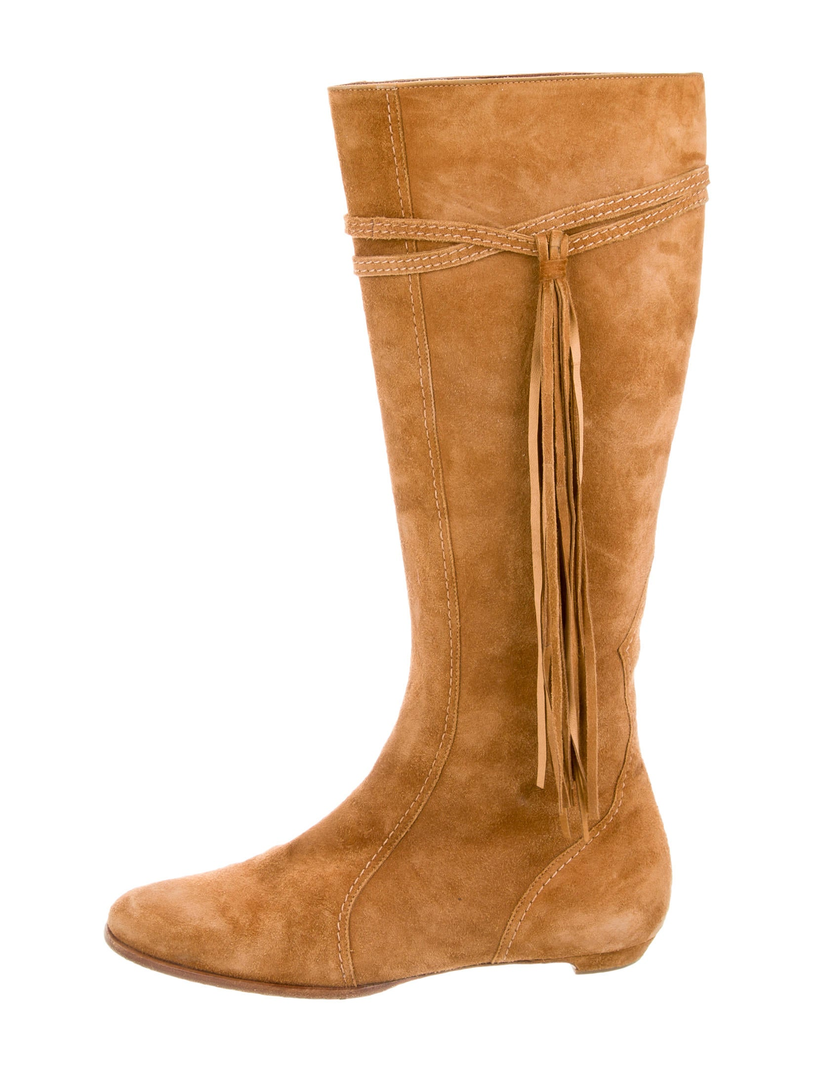 jimmy choo suede tassel boots shoes jim55382 the