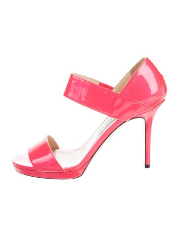 Jimmy Choo Patent Leather Pumps None
