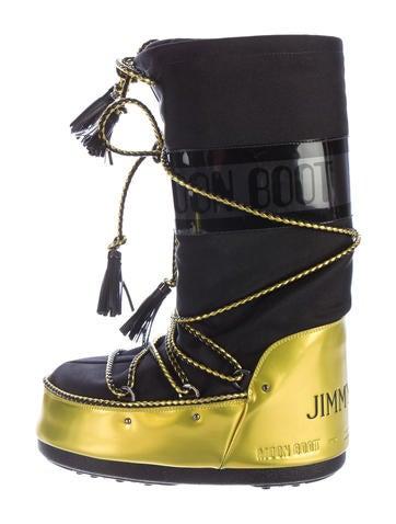 jimmy choo metallic moon boots shoes jim57179 the