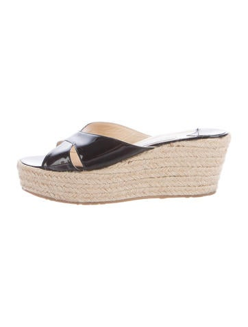 Jimmy Choo Paisley Espadrille Wedges None