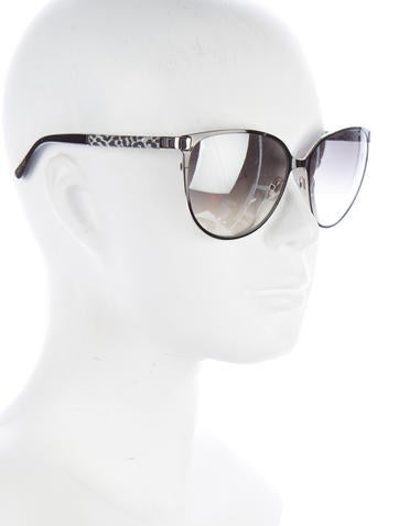 Glitter Embellished Posie Sunglasses