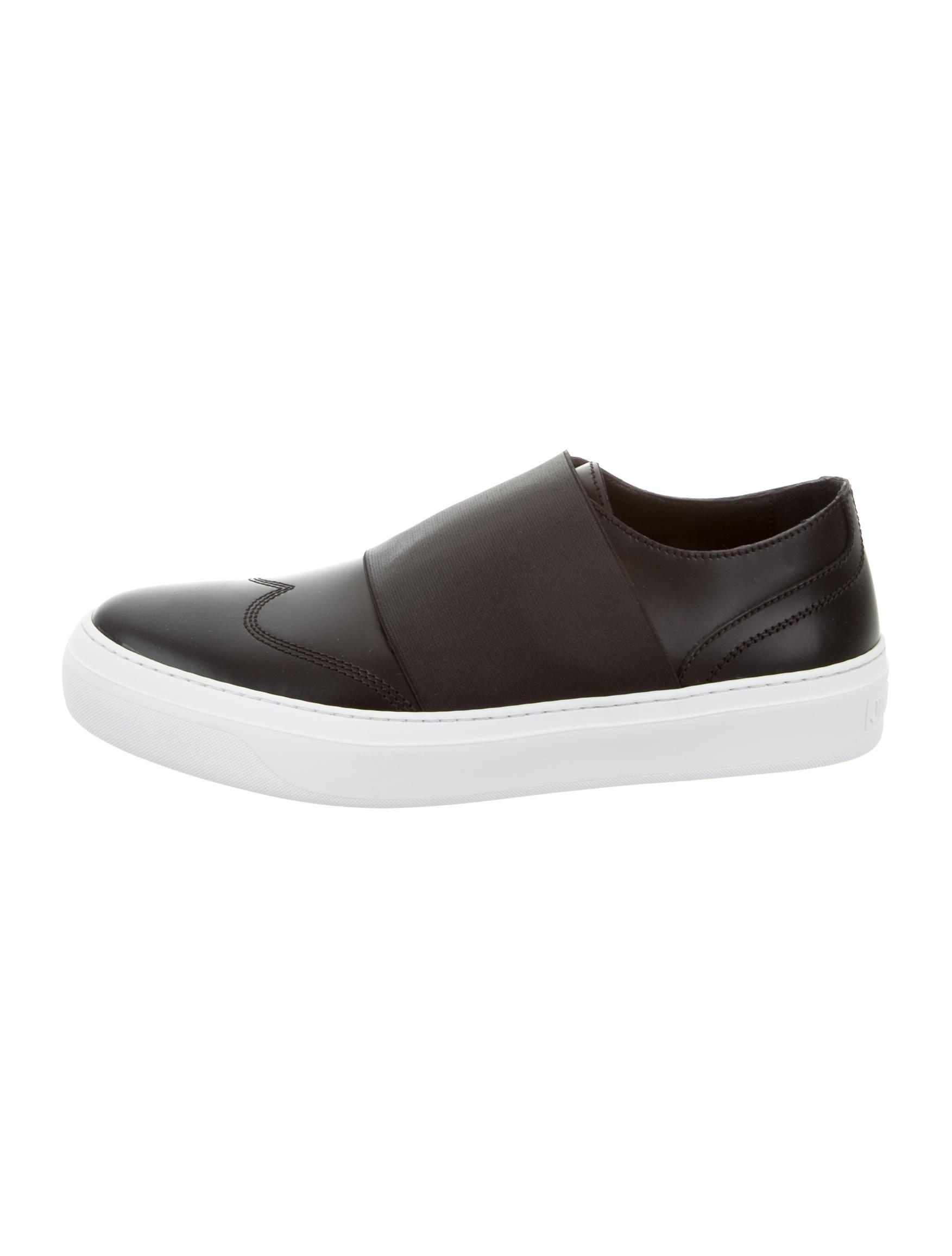 Jimmy chooLeather Guy Slip-On Sneakers lEIdj2xe8