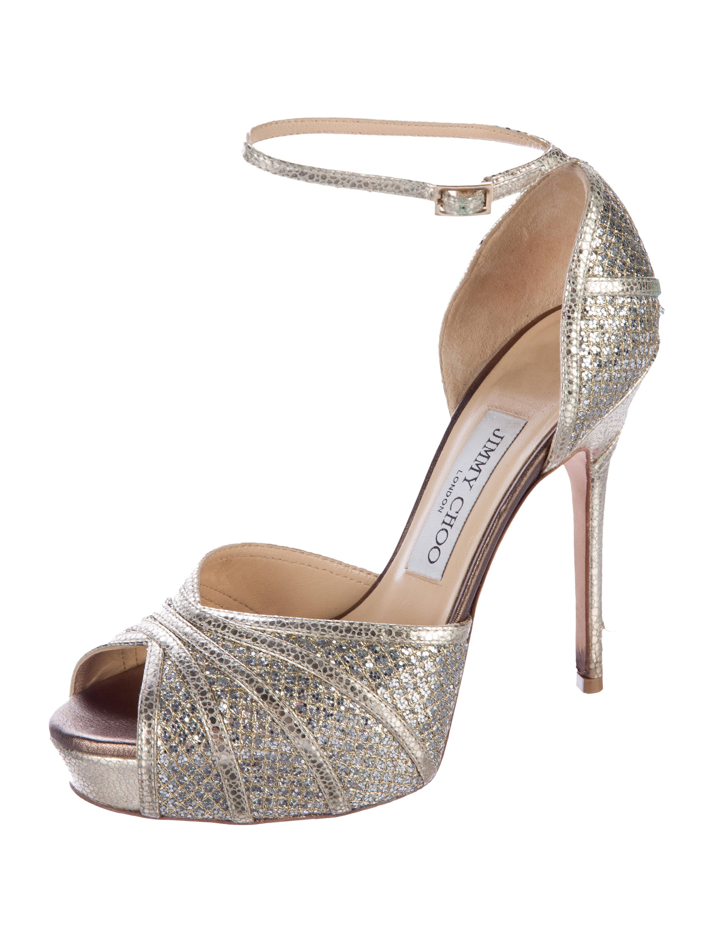 76b15687c160cf Jimmy Choo Kafta Glitter Pumps - Shoes - JIM59024