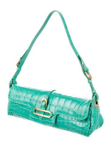 Crocodile Cosmo Bag