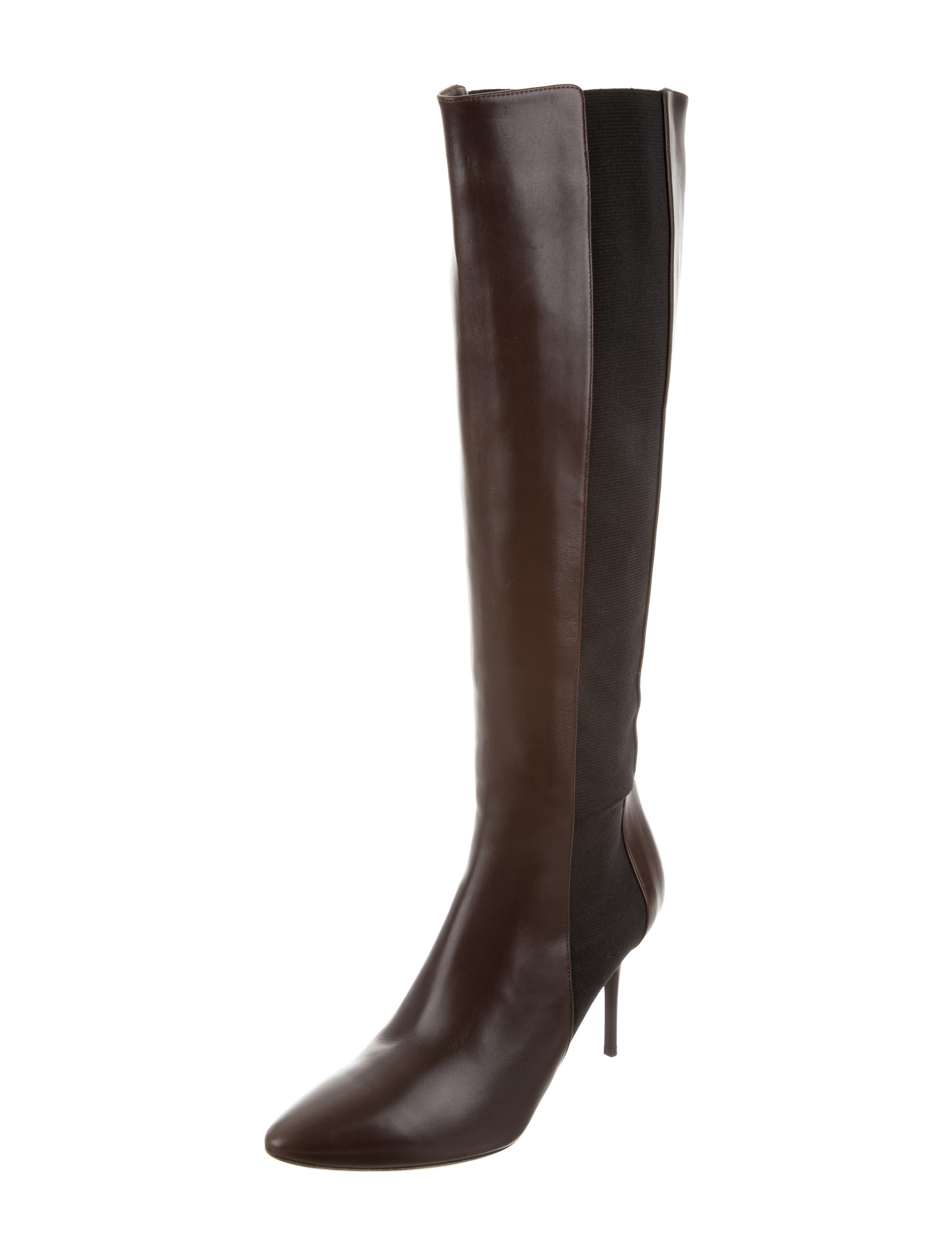 jimmy choo pointed toe knee high boots shoes jim60048