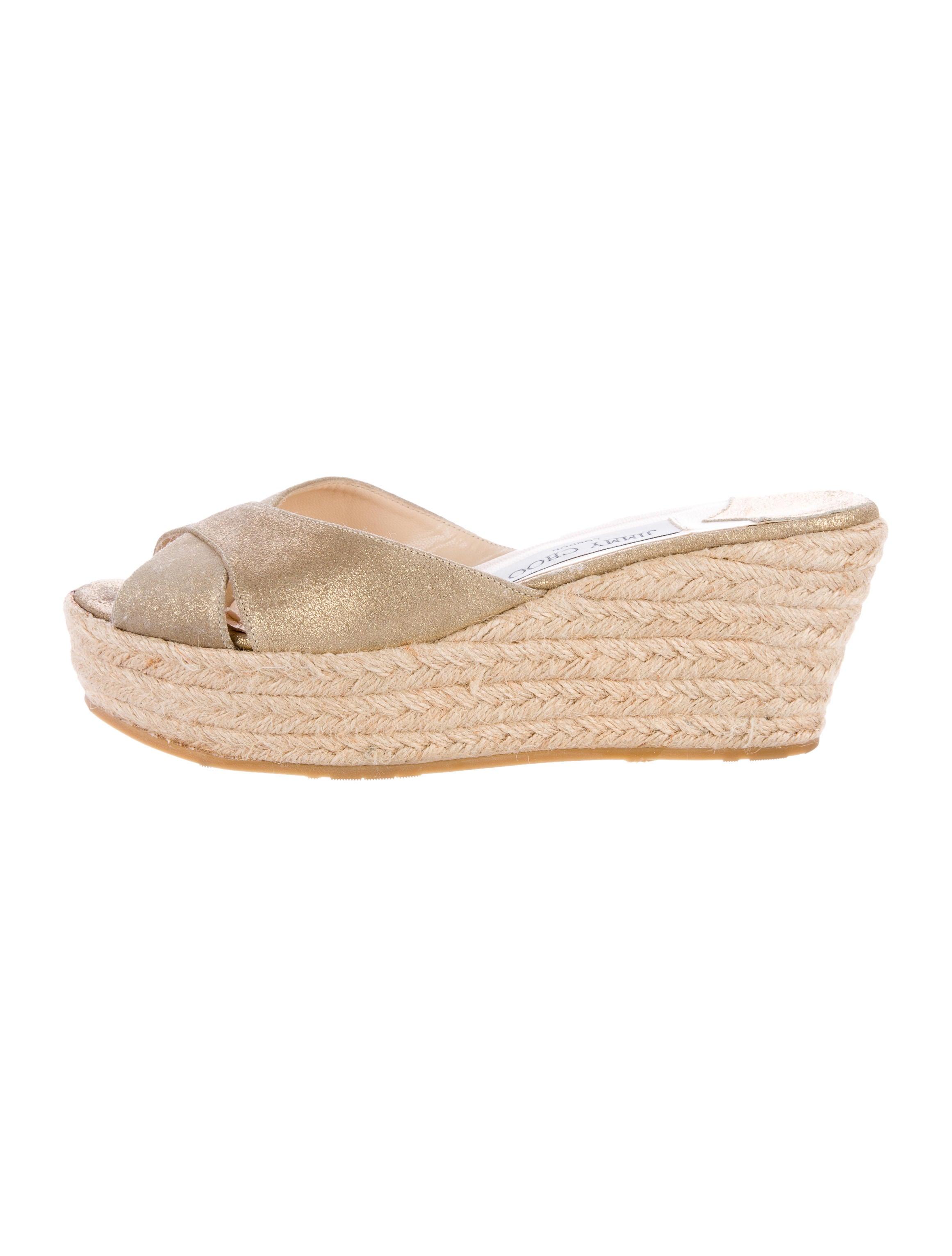 jimmy choo espadrille wedge sandals shoes jim60264
