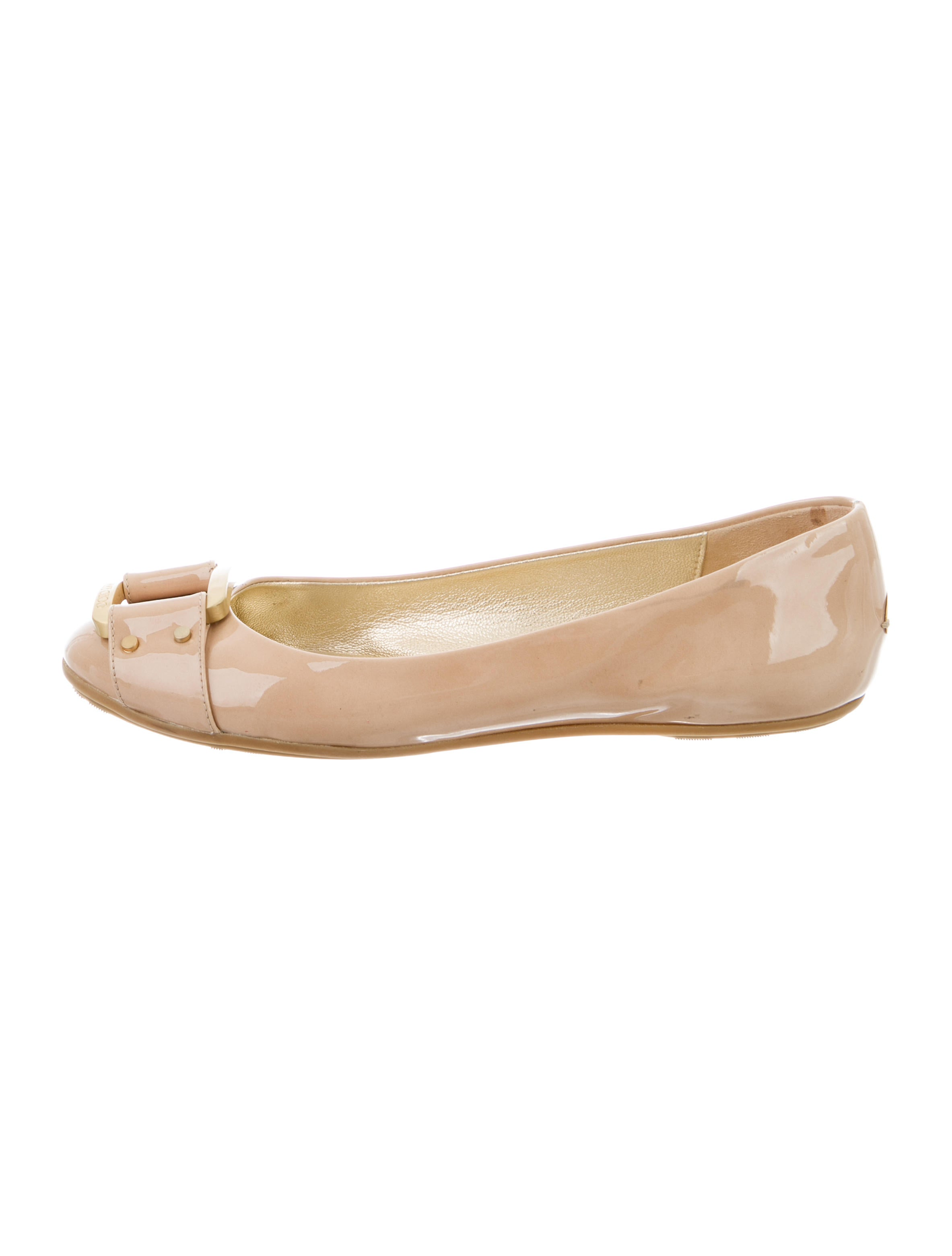 jimmy choo patent leather flats shoes jim60527 the