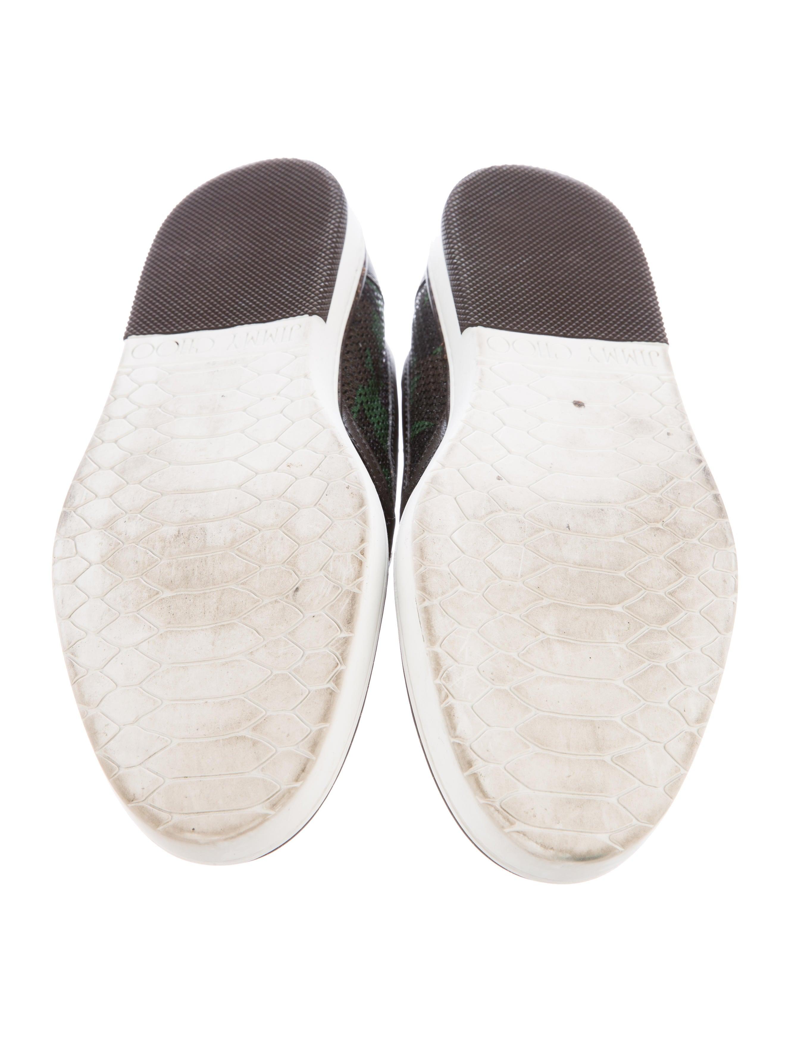 jimmy choo camouflage slip on sneakers shoes jim60848