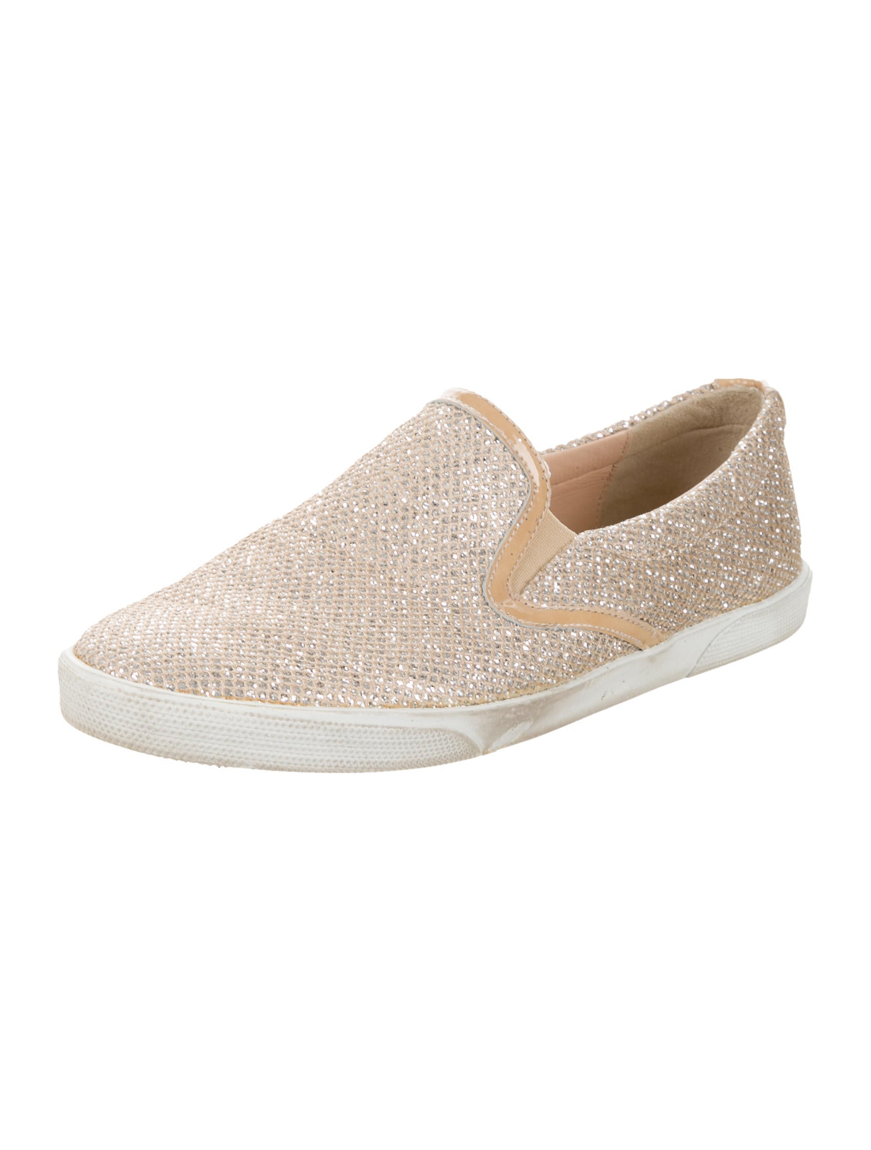 Women S Glitter Slip On Shoes