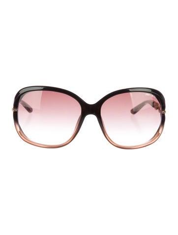Embellished Oversize Sunglasses