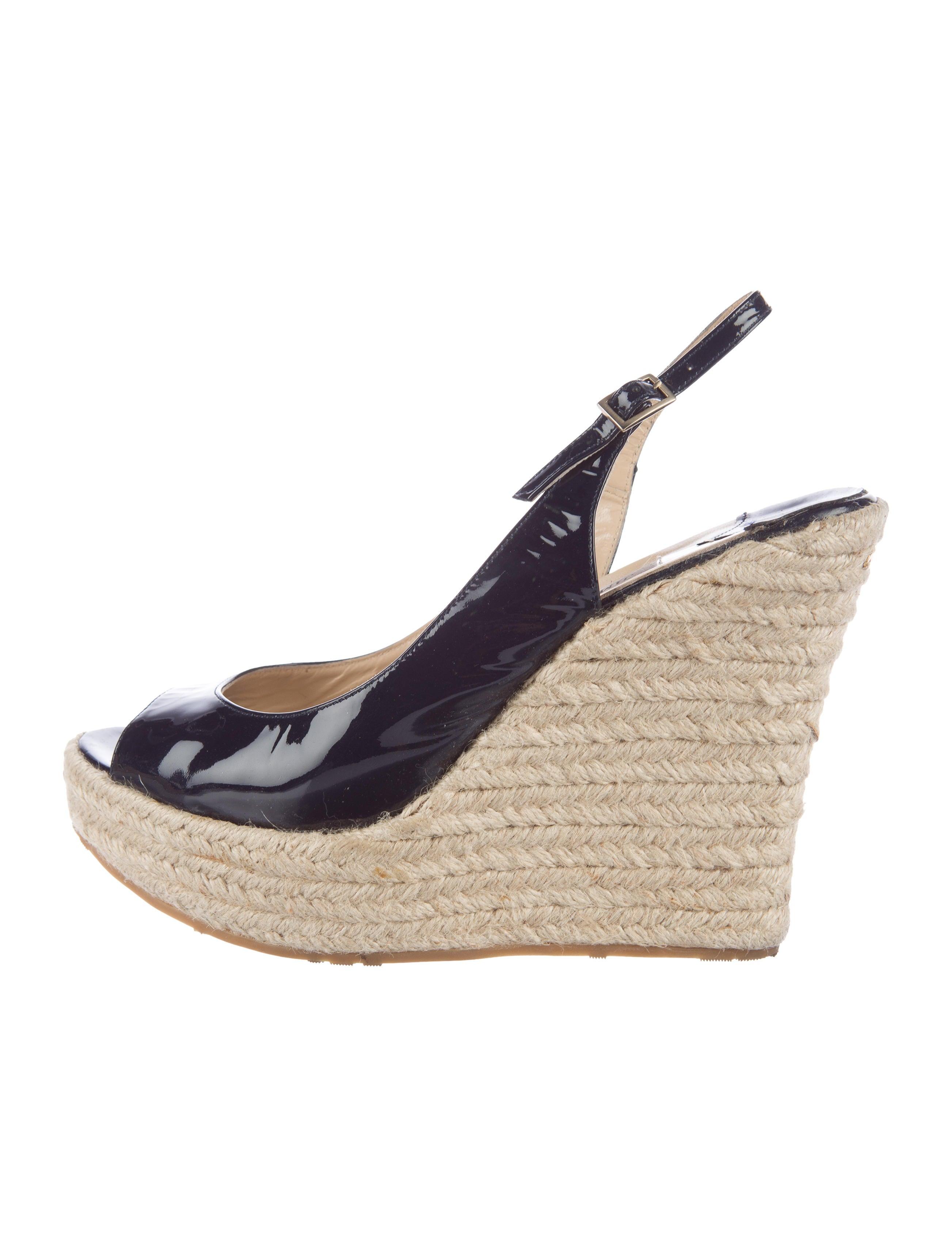 jimmy choo espadrille slingback wedges shoes jim61315